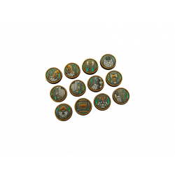 Dwarf Bases, Round 25mm (5)