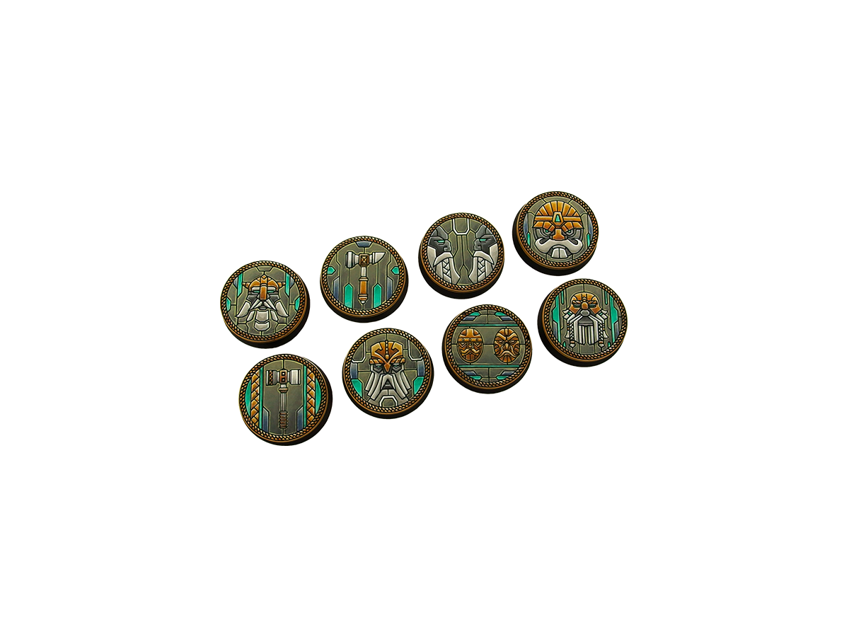 Dwarf Bases, Round 32mm (4)