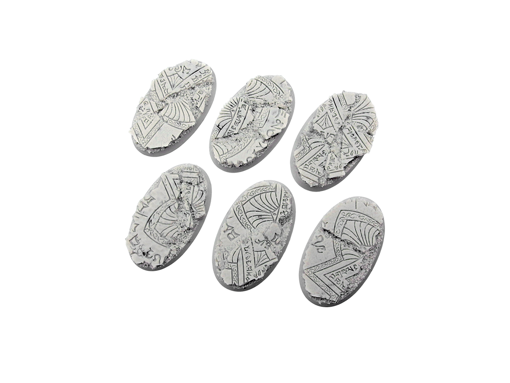 Shrine Bases, Oval 60mm (4)