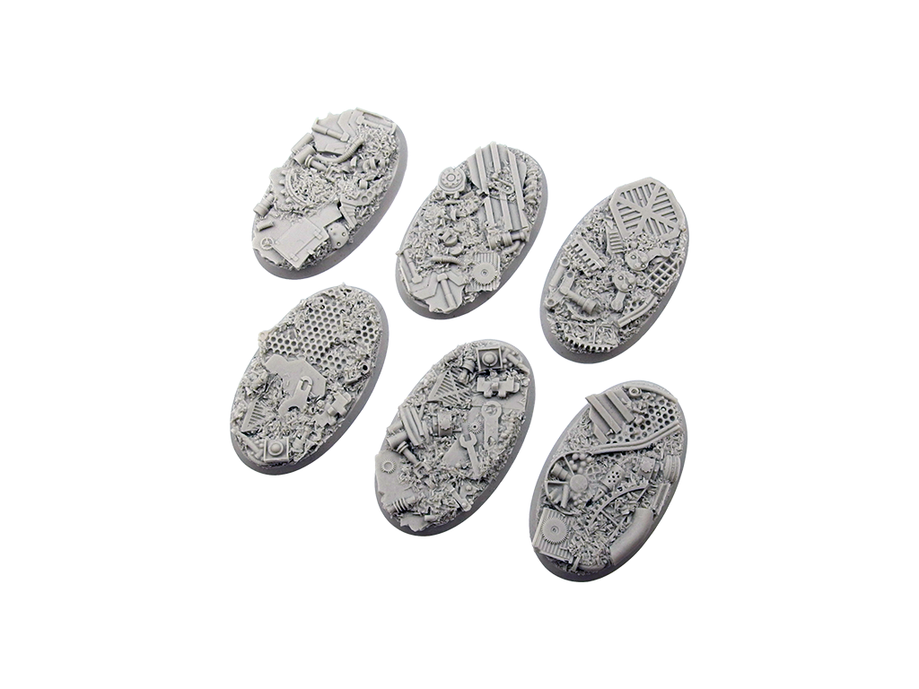 Trash Bases, Oval 60mm (4)