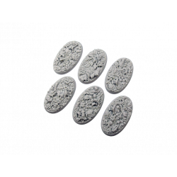 Jungle Bases, Oval 60mm (4)