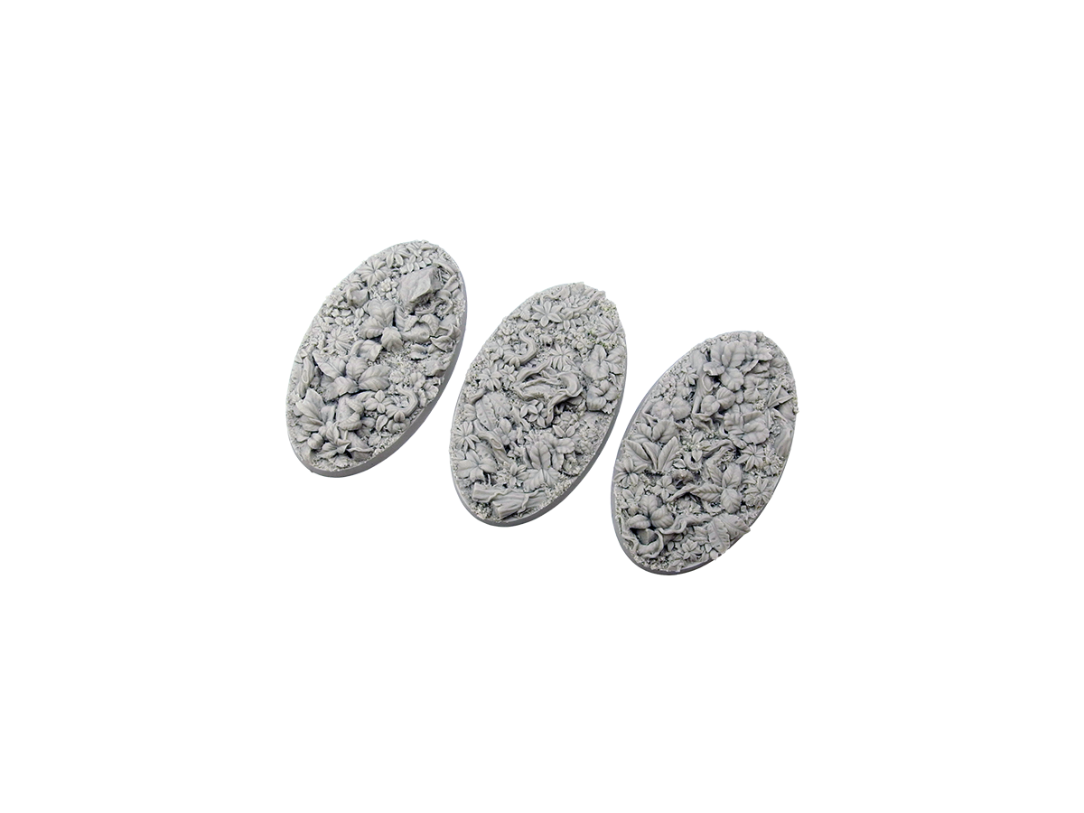 Jungle Bases, Oval 75mm (2)