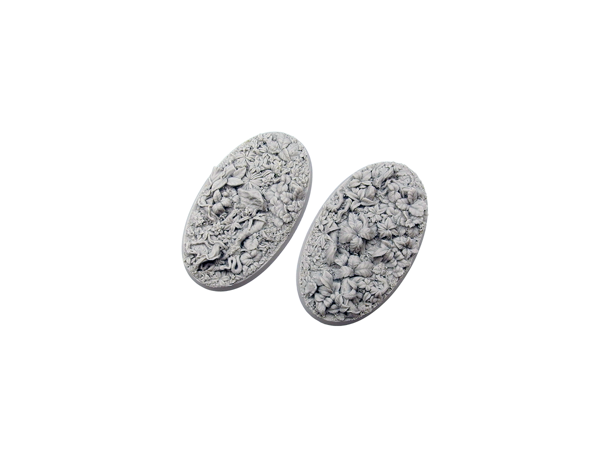 Jungle Bases, Oval 90mm (2)