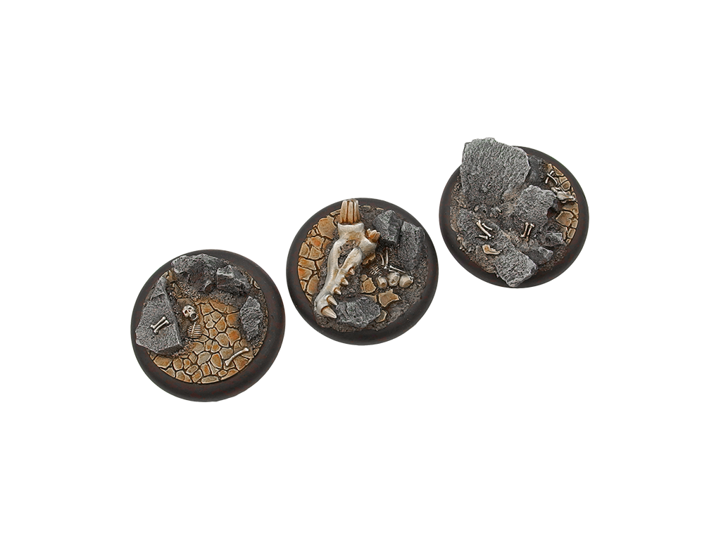 Troglodyte Bases, WRound 50mm (1)