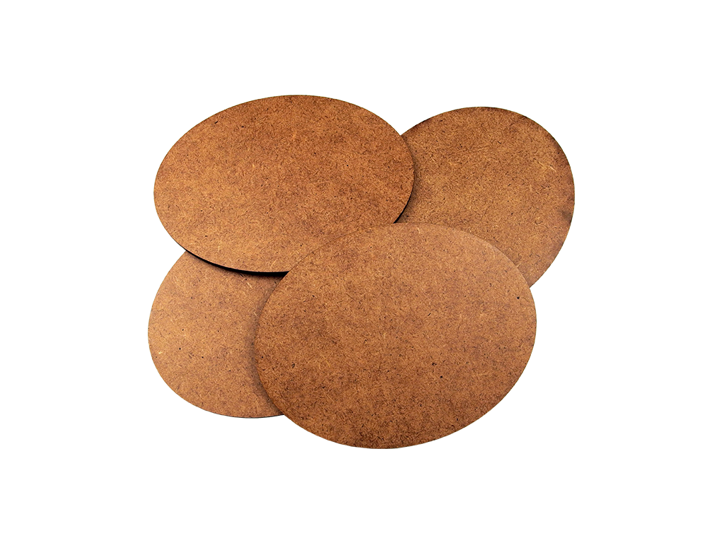 HDF 3mm Bases, Oval 120x92mm (2)