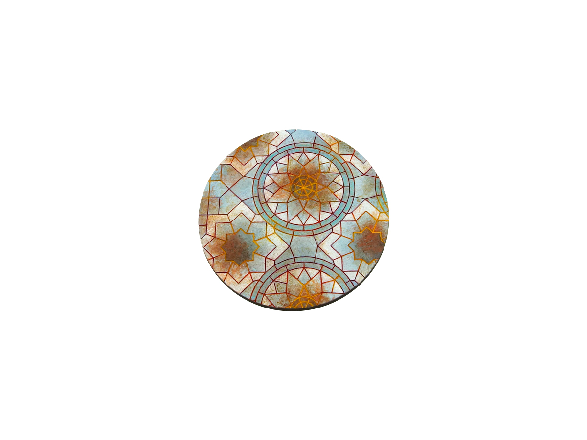 Mosaic Base, Round 100mm (1)