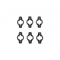 Space Fighter ID Markers Small Orange (6)
