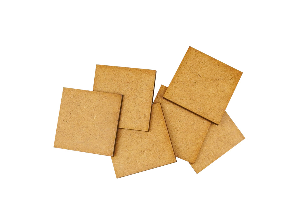 HDF 3mm Bases, 40x40mm (10)