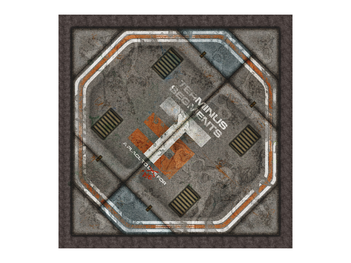 Terminus Segments Modular Mat - Single Tile B01 (1)