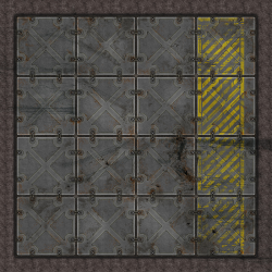 Terminus Segments Modular Mat - Single Tile B02 (1)