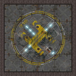 Terminus Segments Modular Mat - Single Tile B03 (1)