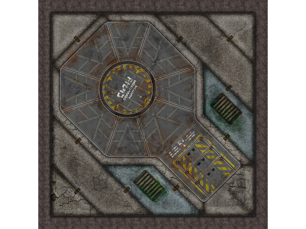 Terminus Segments Modular Mat - Single Tile B04 (1)