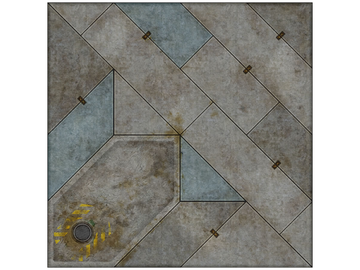Terminus Segments Modular Mat - Single Tile B05 (1)