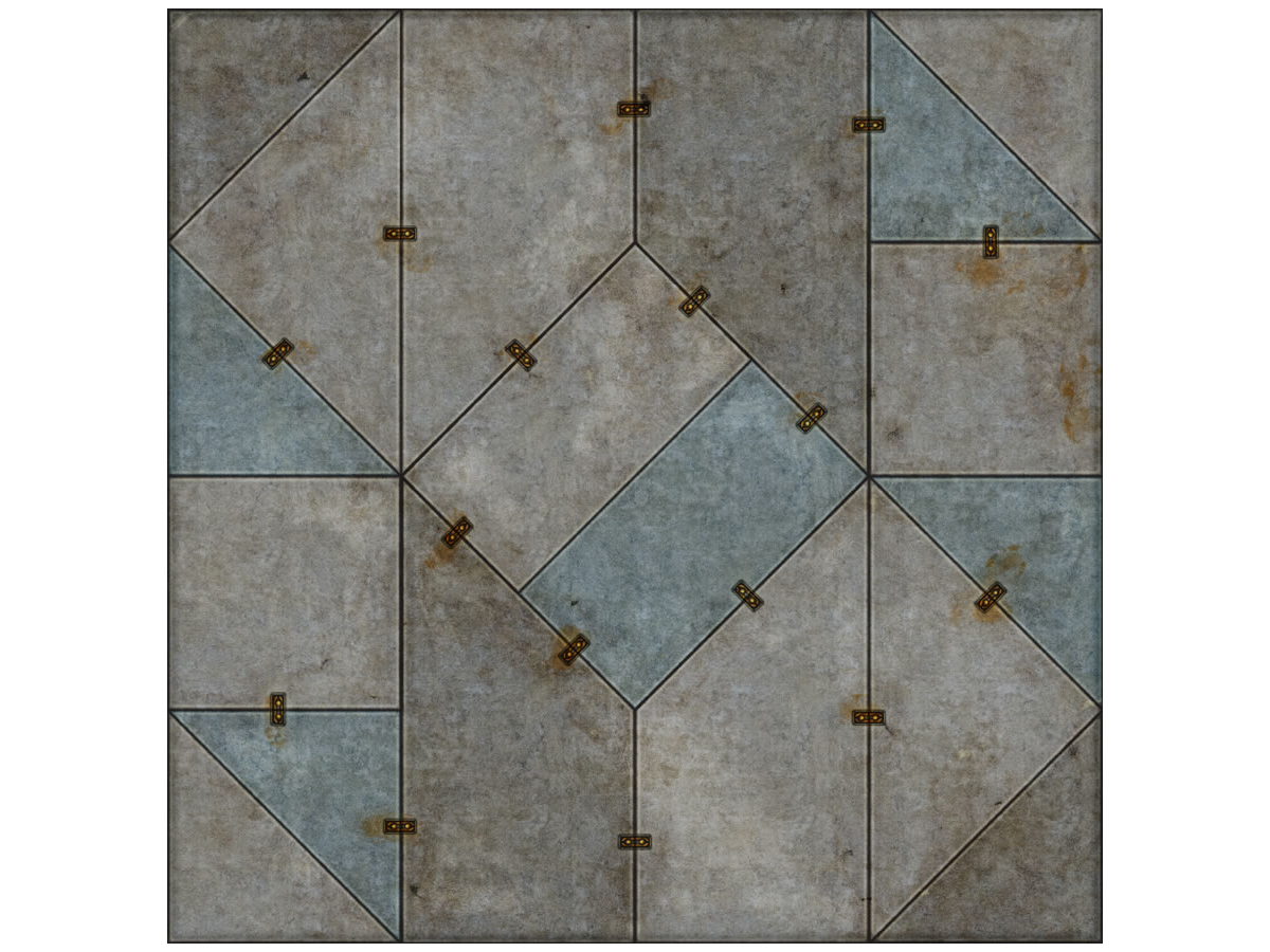 Terminus Segments Modular Mat - Single Tile B07 (1)