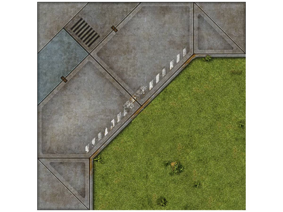 Terminus Segments Modular Mat - Single Tile B09 (1)