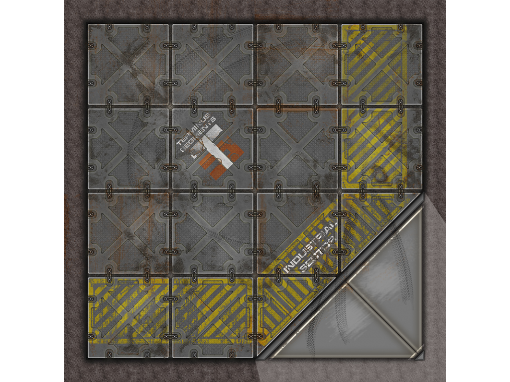Terminus Segments Modular Mat - Single Tile C02 (1)