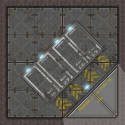 Terminus Segments Modular Mat - Single Tile C03 (1)