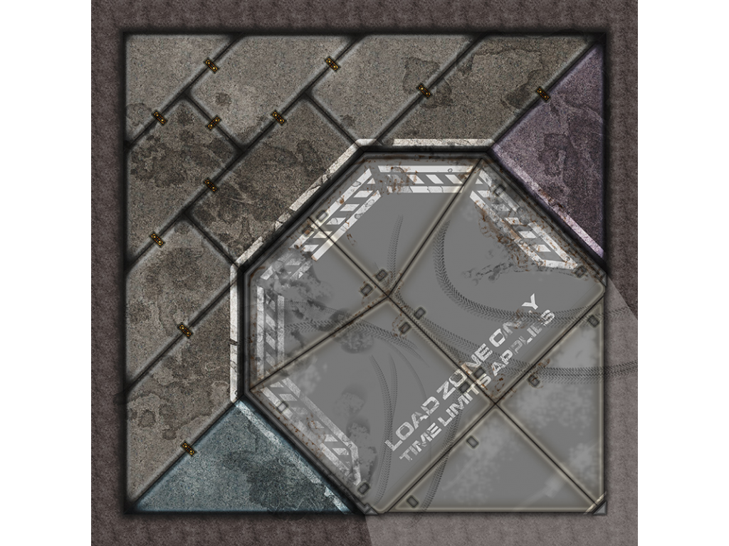 Terminus Segments Modular Mat - Single Tile C04 (1)