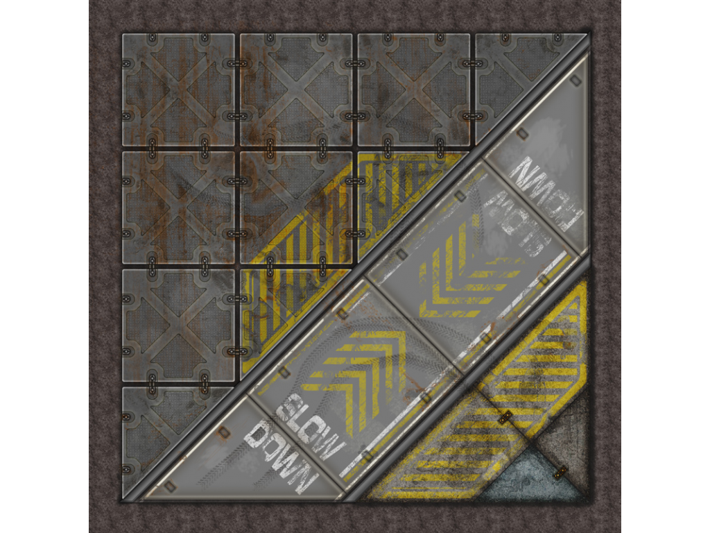 Terminus Segments Modular Mat - Single Tile D02 (1)