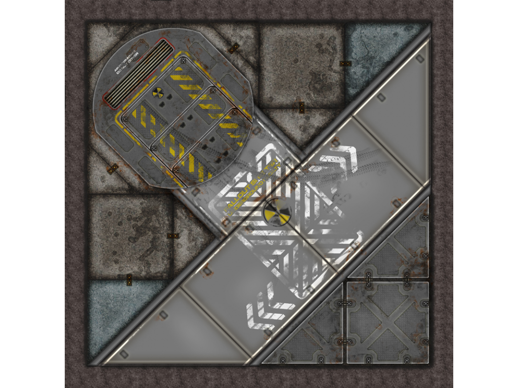 Terminus Segments Modular Mat - Single Tile D04 (1)