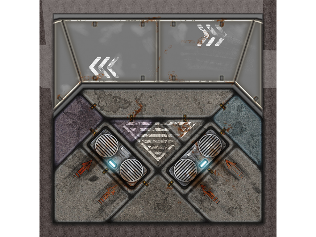 Terminus Segments Modular Mat - Single Tile S01 (1)