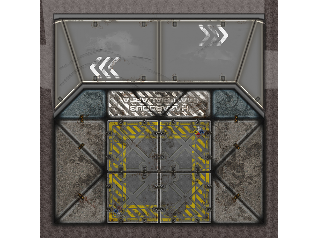 Terminus Segments Modular Mat - Single Tile S02 (1)