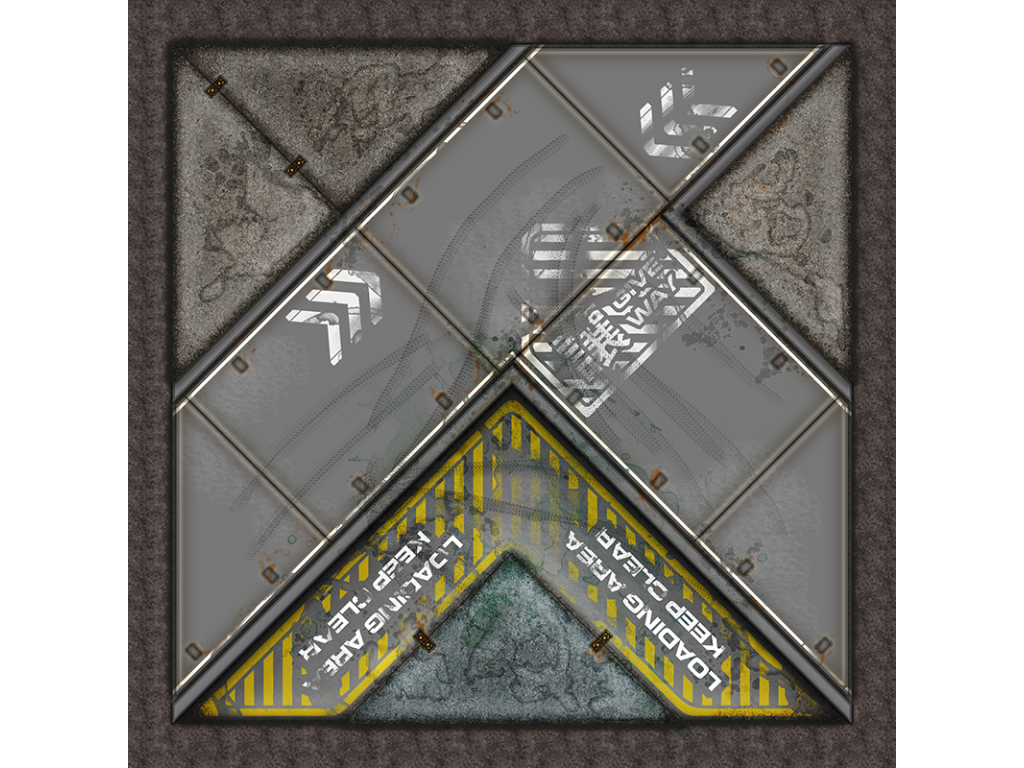 Terminus Segments Modular Mat - Single Tile Y01 (1)