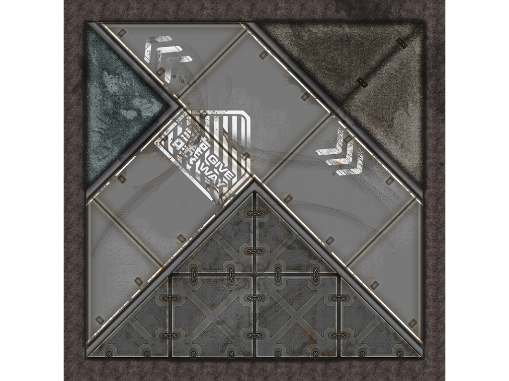 Terminus Segments Modular Mat - Single Tile Y02 (1)
