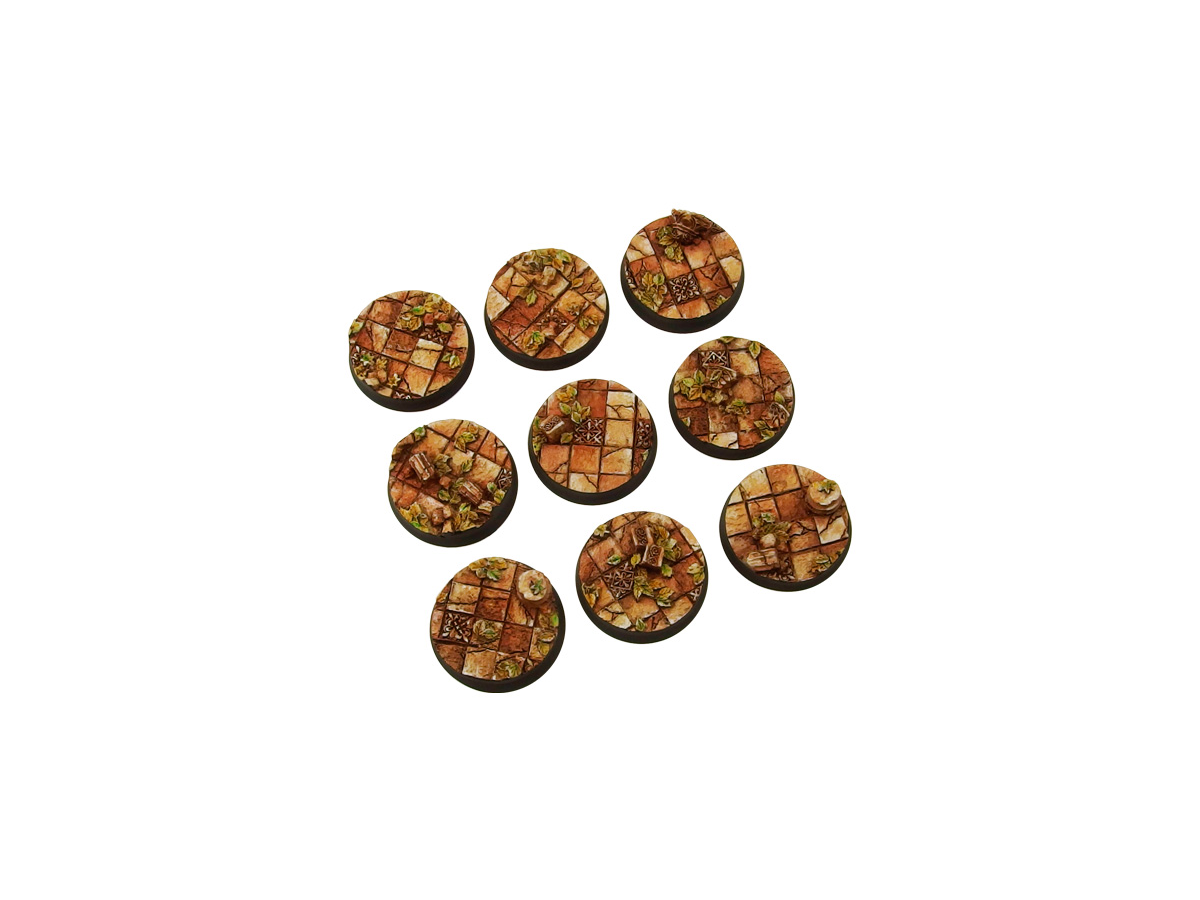 Ancient Bases, Round 28mm (5)