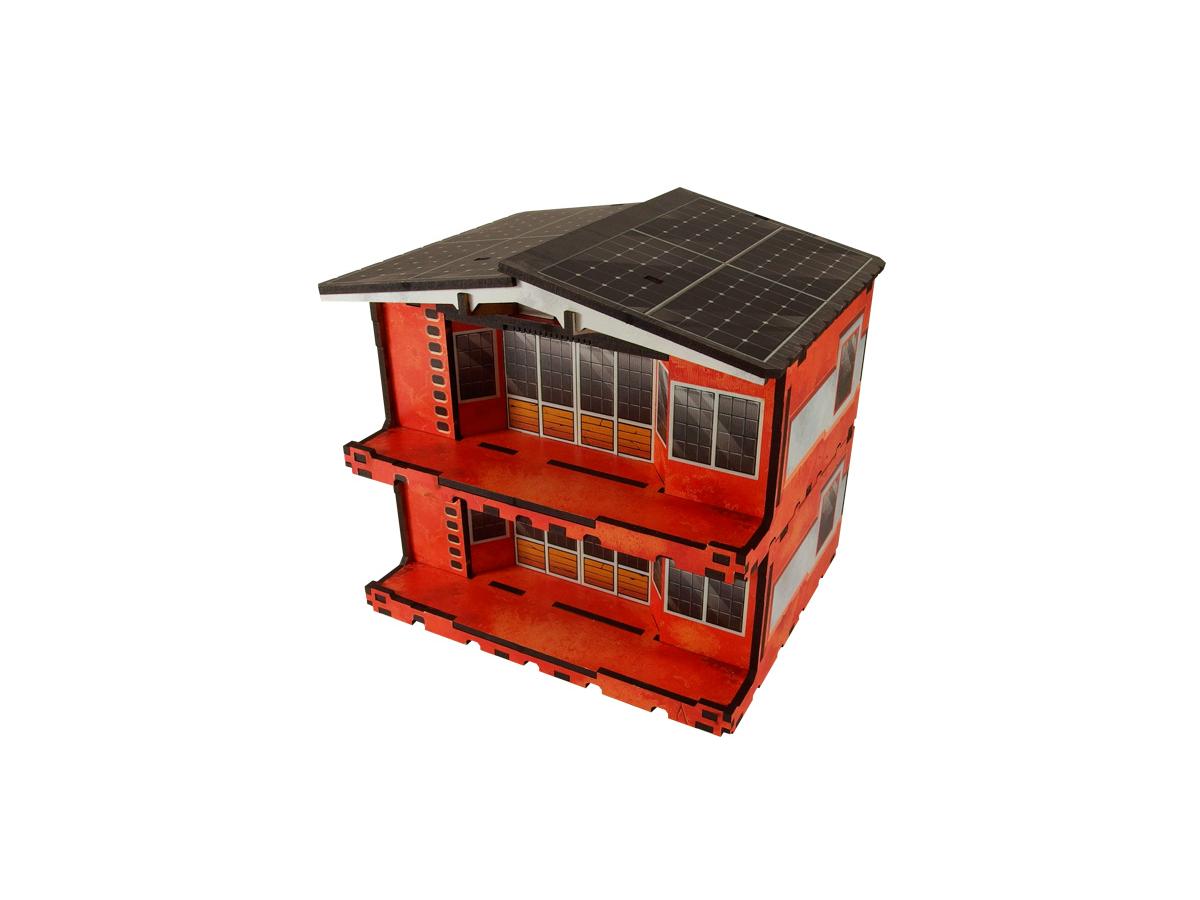 Kokkyo 3 - Market PREPAINTED (red)