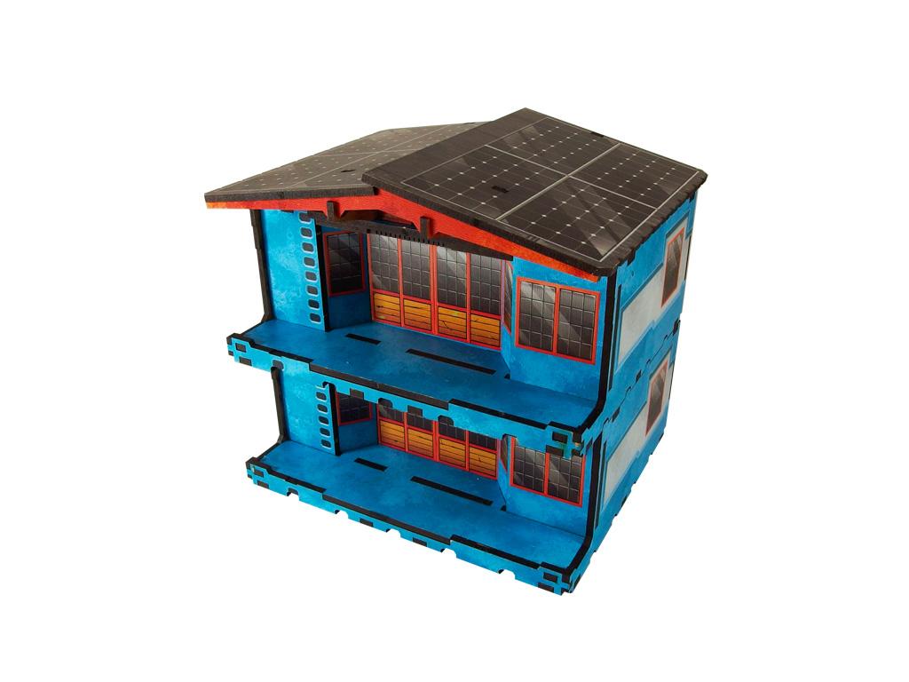 Kokkyo 3 - Market PREPAINTED (blue)