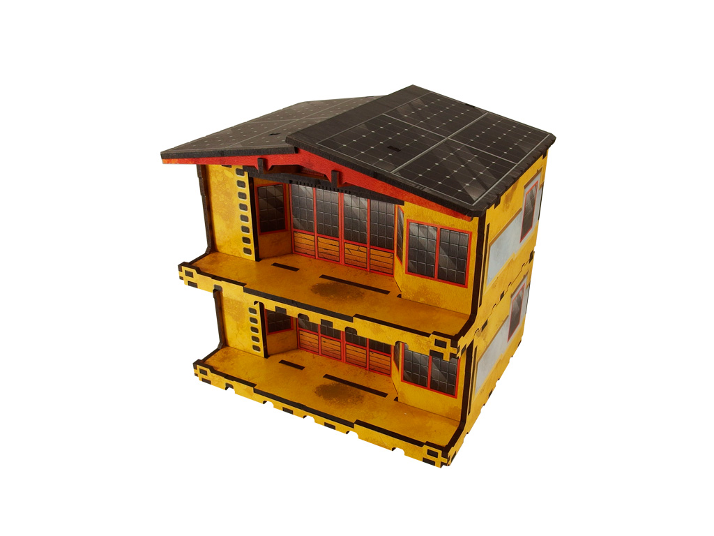 Kokkyo 3 - Market PREPAINTED (yellow)