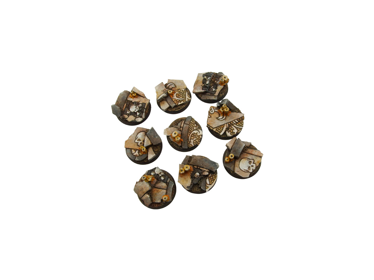 Ruined Chapel Bases, Round 28mm (5)