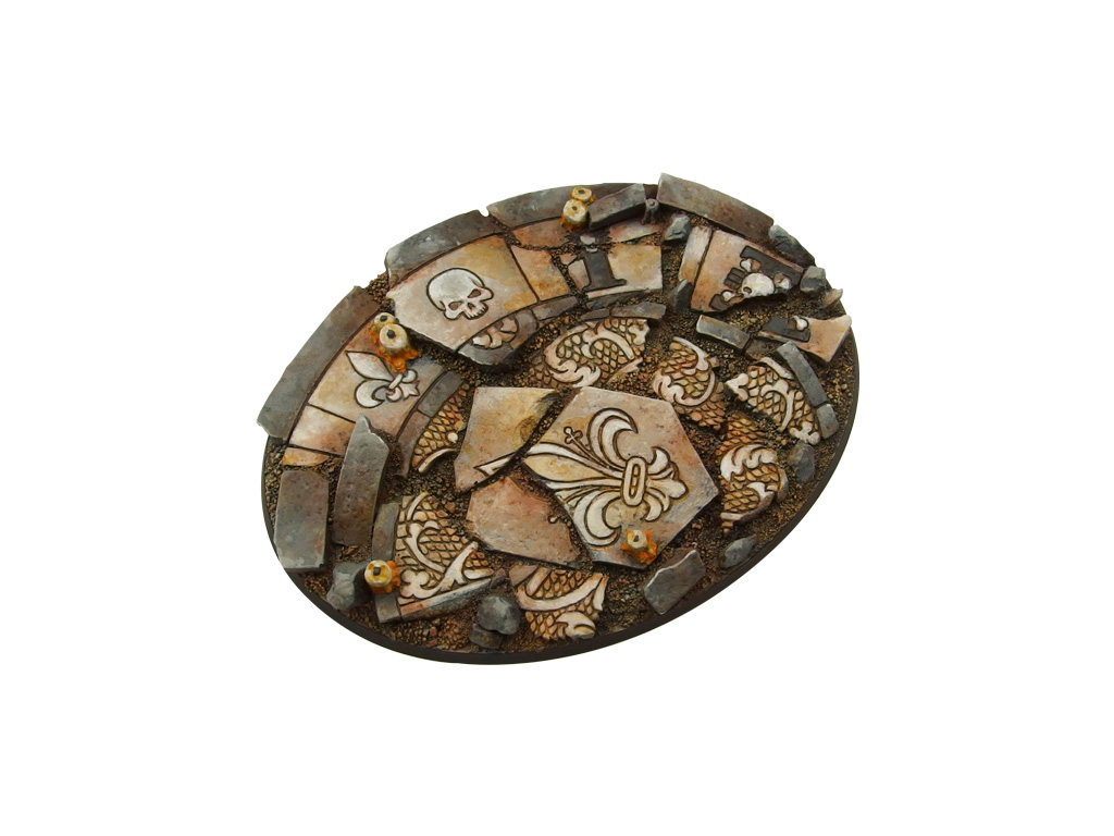 Ruined Chapel Bases, Oval 120mm (1)