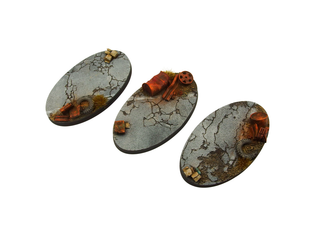 Highway Bases, Oval 75mm (2)