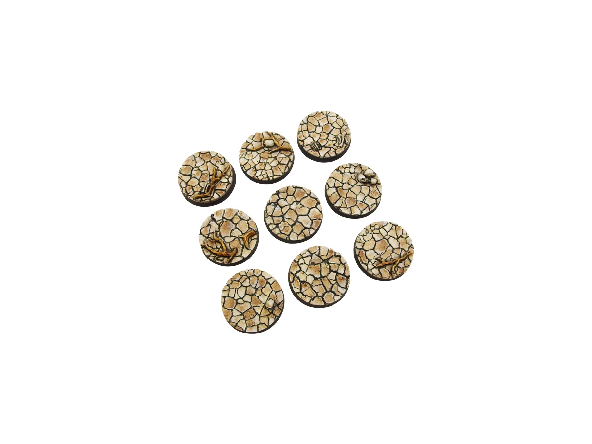 Wasteland Bases, Round 28mm (5)