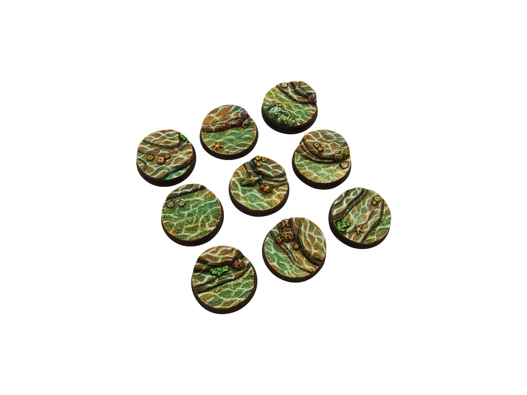 Deep Water Bases, Round 28mm (5)