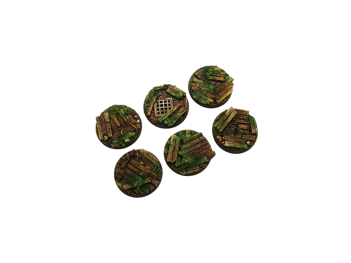 Wood Bases, Round 40mm (2)
