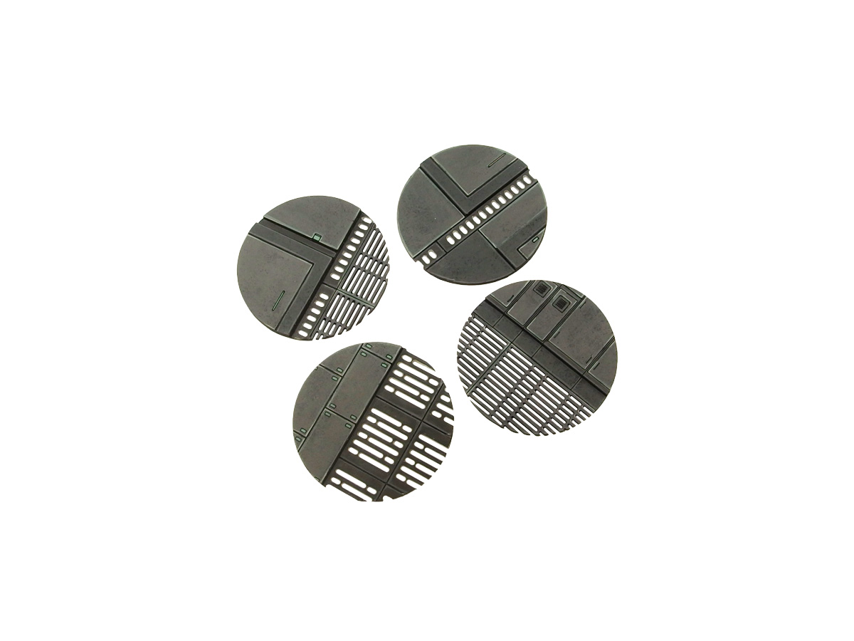 Space Station Base Topper, Round 55mm (4)