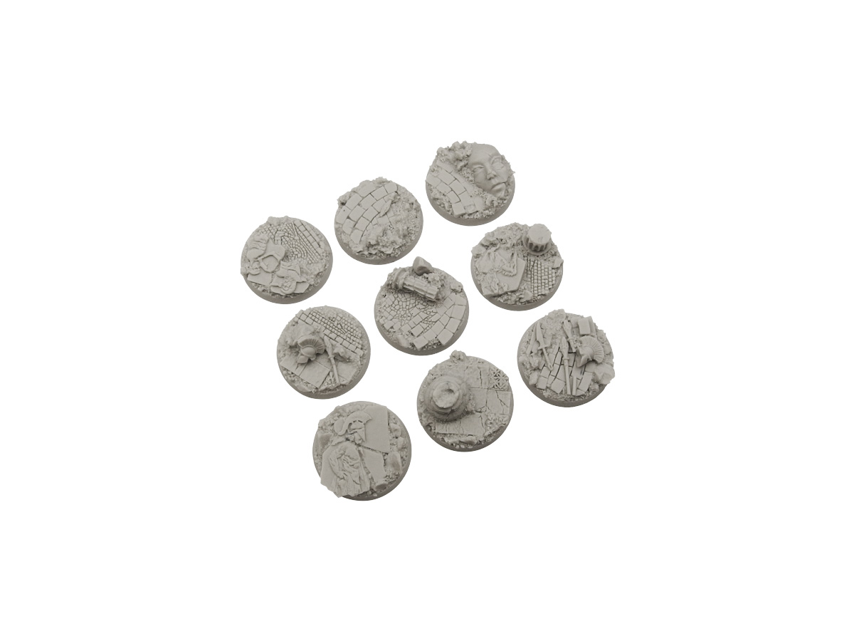 Halodyne Bases, Round 28mm (5)