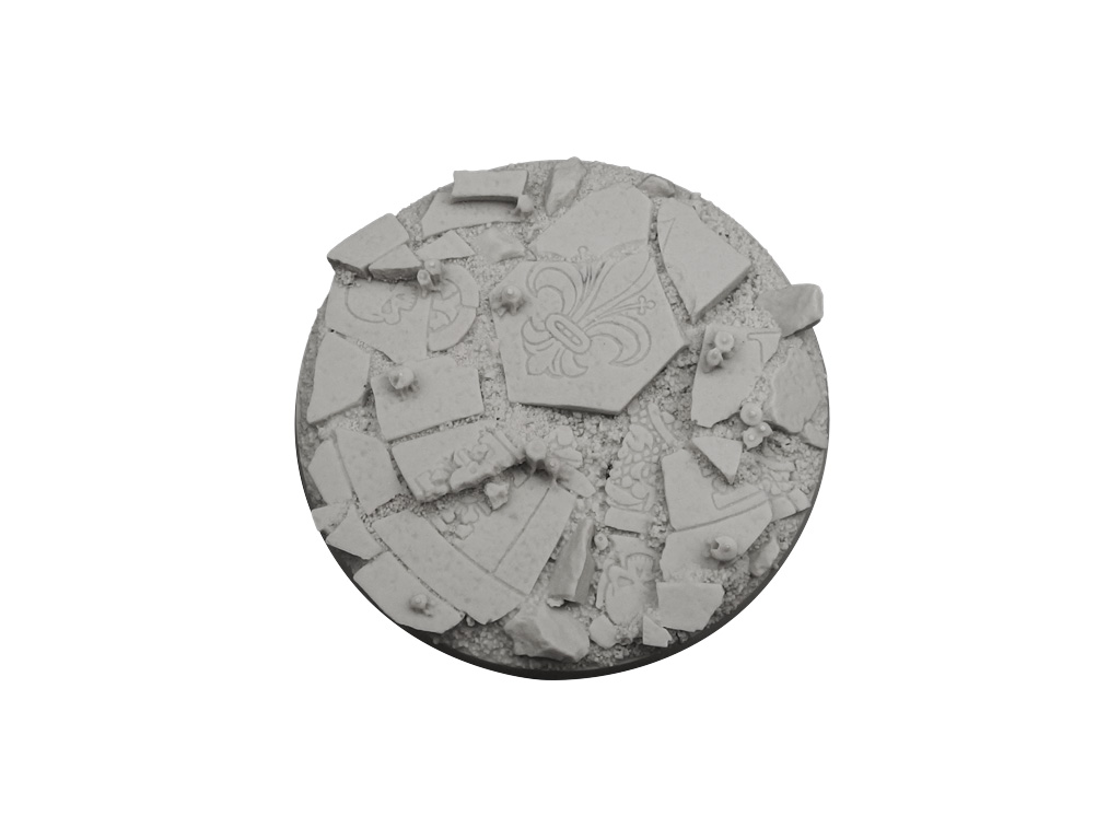 Ruined Chapel Bases, Round 90mm (1)