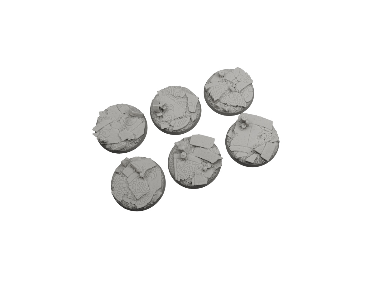 Ruined Chapel Bases, Round 40mm (2)