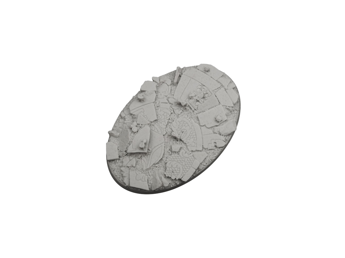 Ruined Chapel Bases, Oval 105x70mm (1)