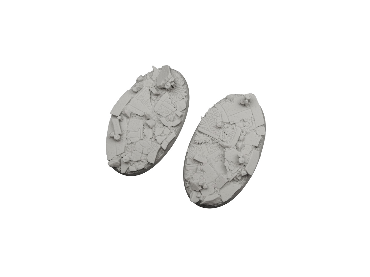 Ruined Chapel Bases, Oval 90mm (2)