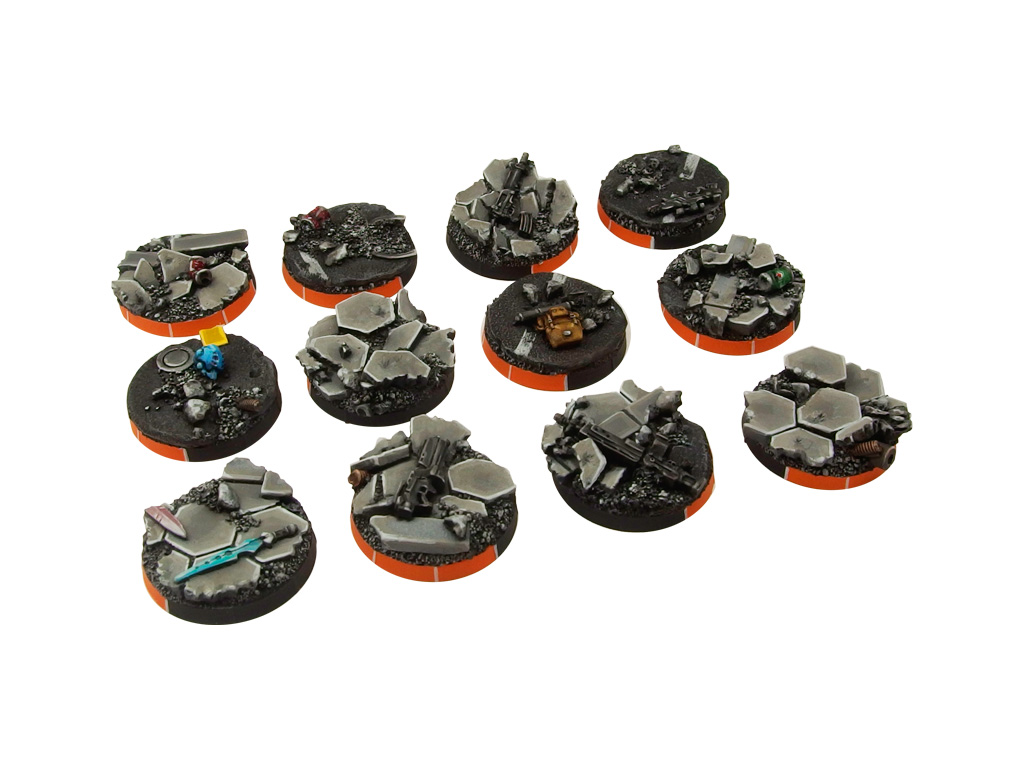 Urban Fight Arc Bases, Round 25mm (5)