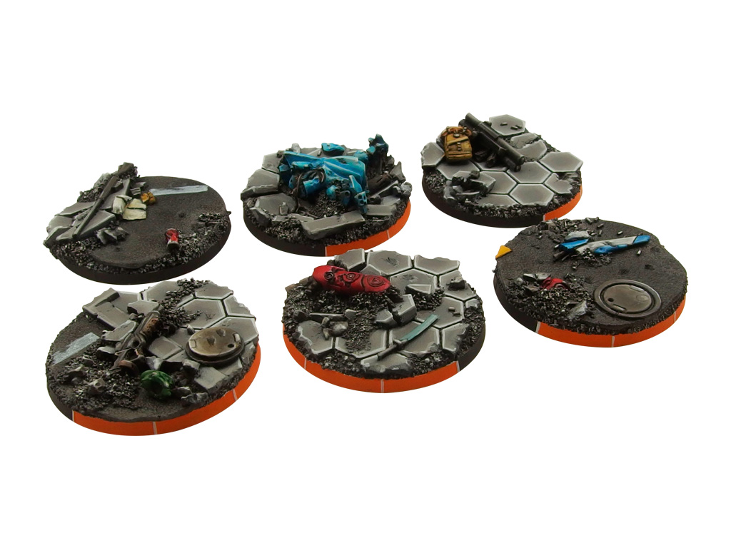 Urban Fight Arc Bases, Round 40mm (2)