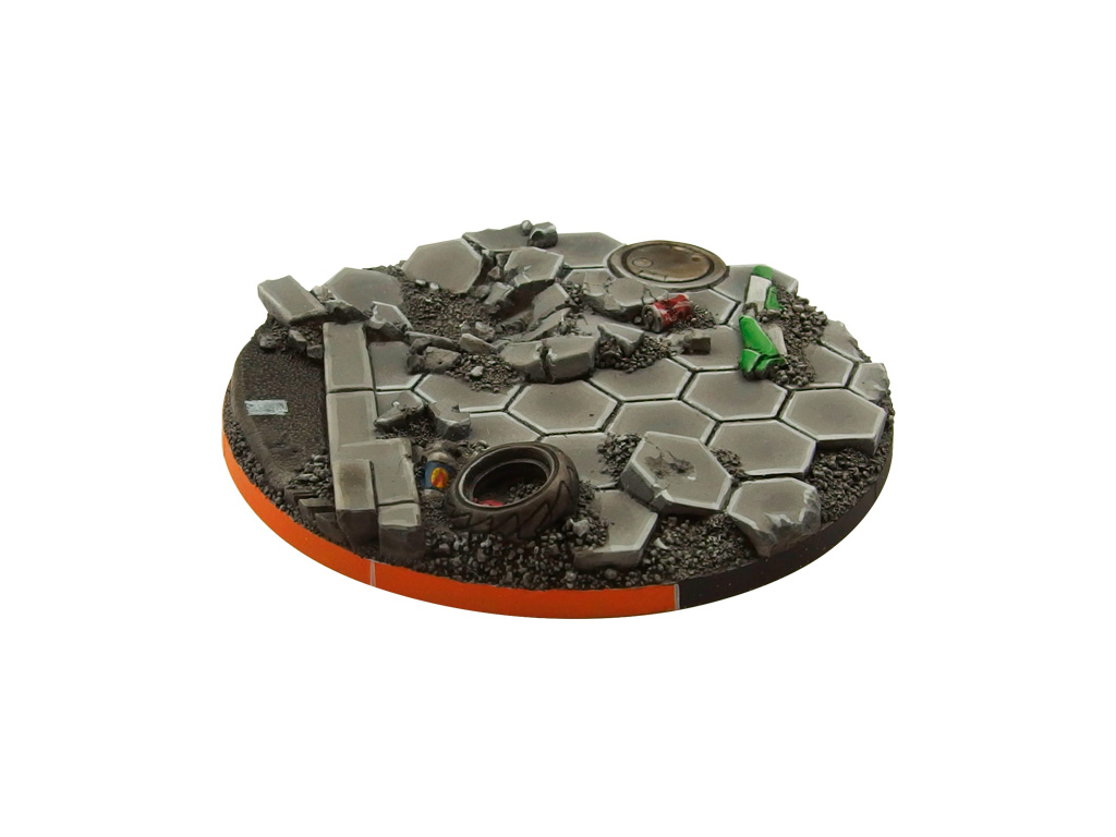 Urban Fight Arc Bases, Round 70mm (1)