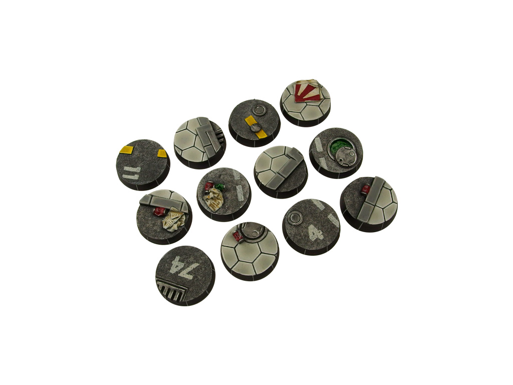 Urban Arc Bases, Round 25mm (5)