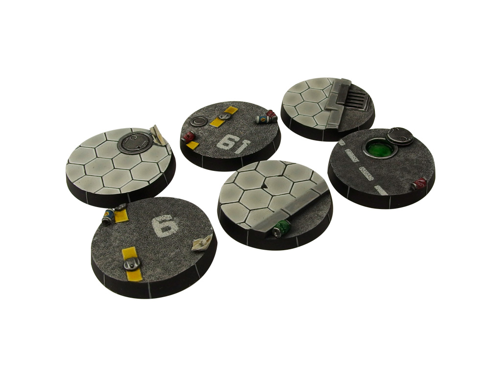 Urban Arc Bases, Round 40mm (2)