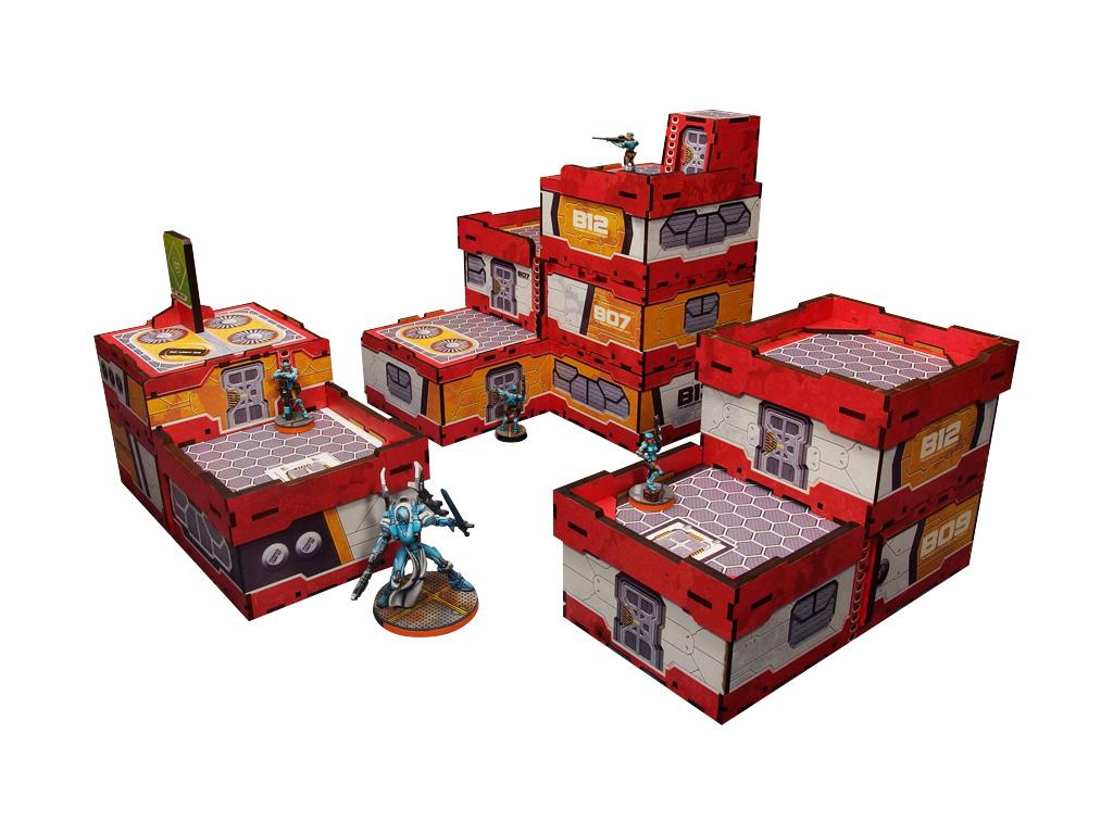 District 5 PREPAINTED (red) Sample bundle